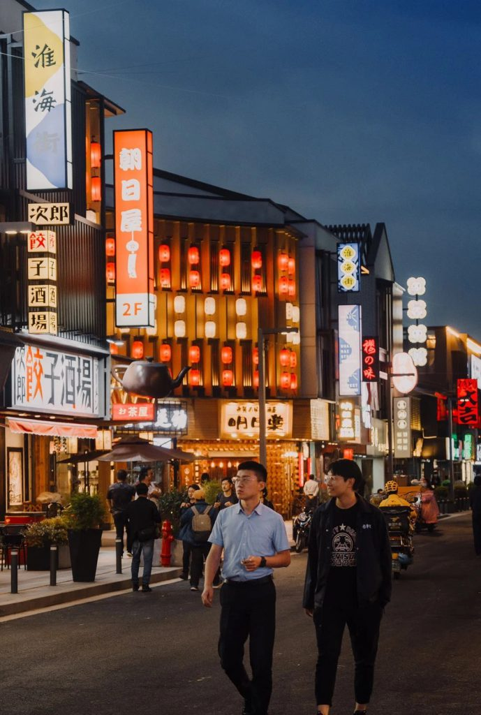 蘇州高新区淮海街 中心部を散策