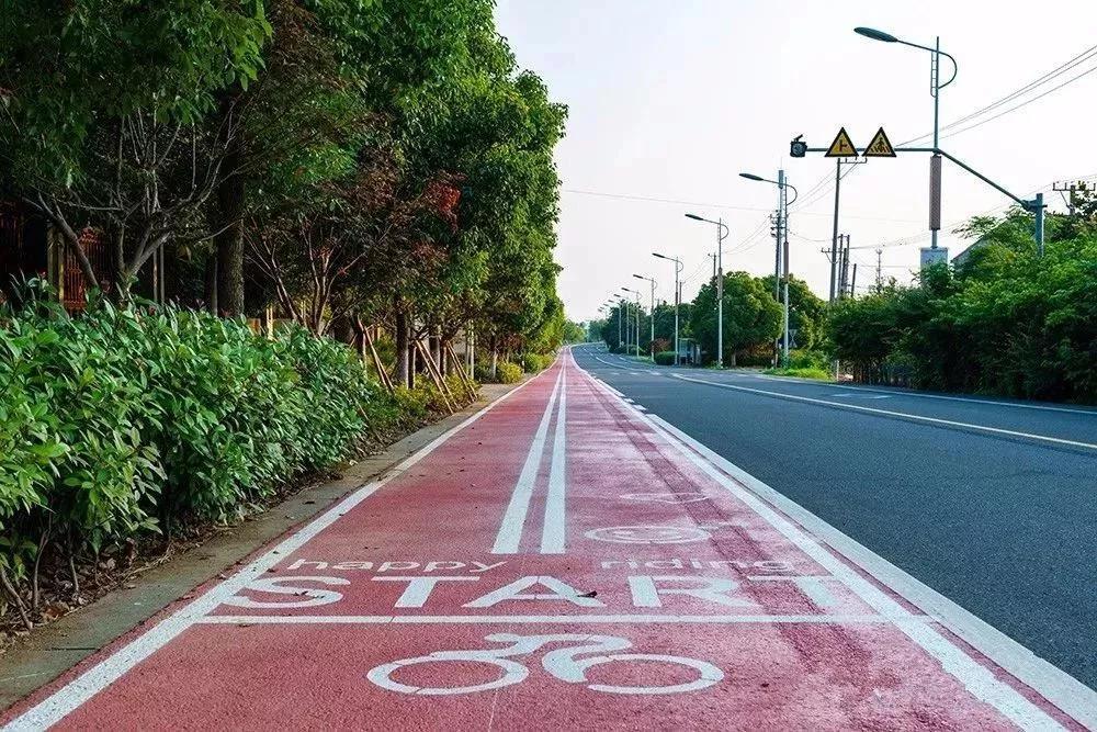 蘇州高新区 専用自転車レーン