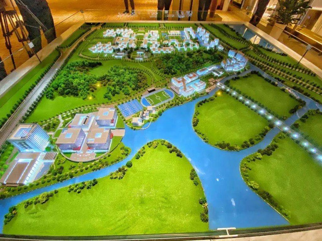 太湖科学城 完成模型