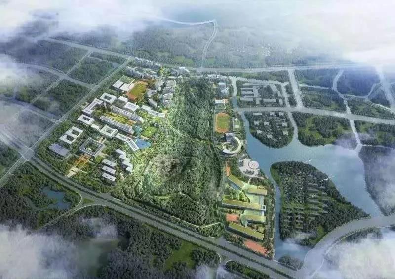 南京大学蘇州キャンパス 俯瞰図