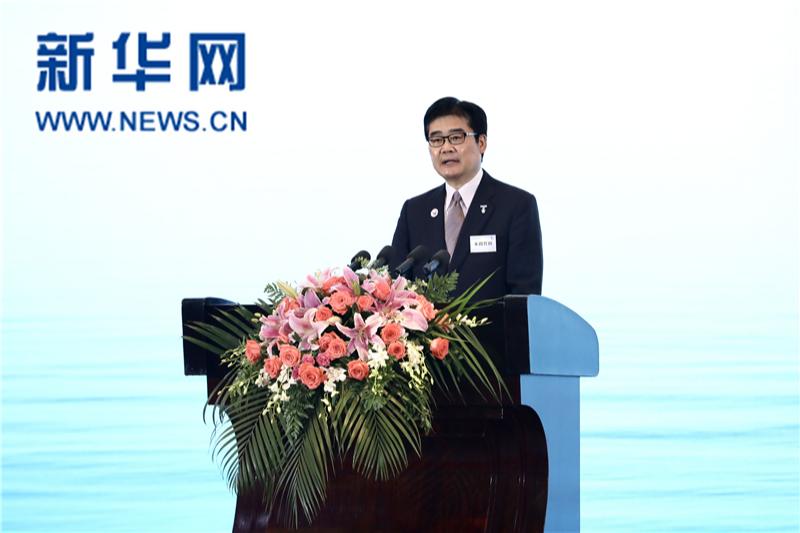 2021 江蘇省 東アジア企業家太湖フォーラム パナソニックグループ代表 本間哲郎社長